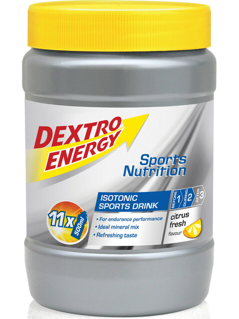 Dextro Energy Isotonic Sports Drink Sportvoeding met basisprijs Citrus Fresh 440g